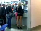 Scandale : sa jupe ne pouvait être plus courte !