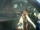 Voyeur filme un client se faire pomper par une pute en bagnole