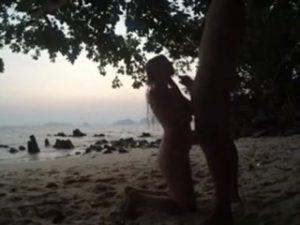 couple-amateur-pipe-fellation-plage-exterieur